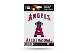 Los Angeles Angels Window Decal Set Sticker Officially Licensed MLB
