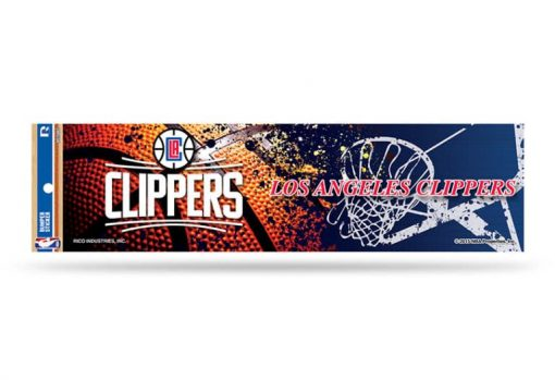 Los Angeles Clippers Bumper Sticker NBA Officially Licensed