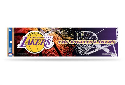 Los Angeles Lakers Bumper Sticker NBA Officially Licensed