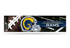 Los Angeles Rams Bumper Sticker Officially Licensed NFL Retro