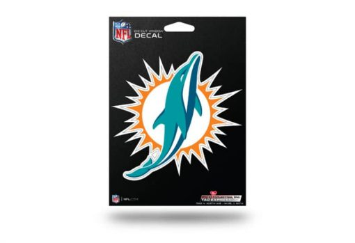 Miami Dolphins Window Decal Sticker Officially Licensed NFL
