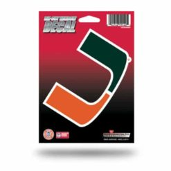 Miami Hurricanes Window Decal Sticker Officially Licensed