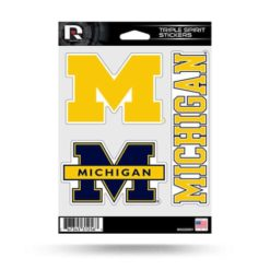 Michigan Wolverines Window Decal Sticker Set Officially Licensed