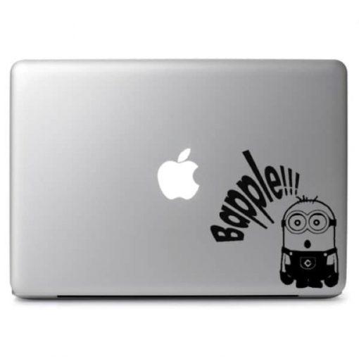 Minion Bapple Laptop Decal Sticker
