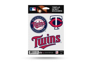 Minnesota Twins Window Decal Set Sticker Officially Licensed MLB
