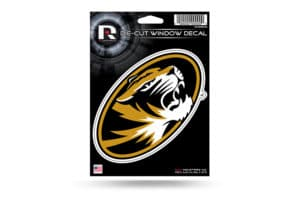 Missouri Tigers NCAA Window Decal Sticker Officially Licensed