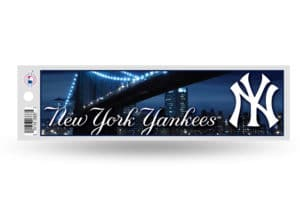 NY New York Yankees Bumper Sticker Officially Licensed MLB