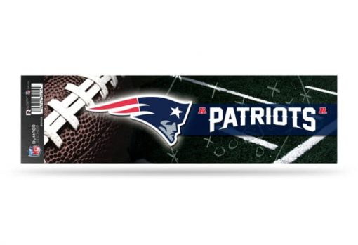 New England Patriots Bumper Sticker Officially Licensed NFL