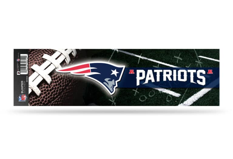 7a0e2f6430b New England Patriots Bumper Sticker Officially Licensed NFL – Custom ...