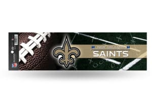 New Orleans Saints Bumper Sticker Officially Licensed NFL