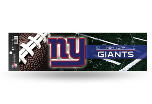 New York Giants Bumper Sticker Officially Licensed NFL