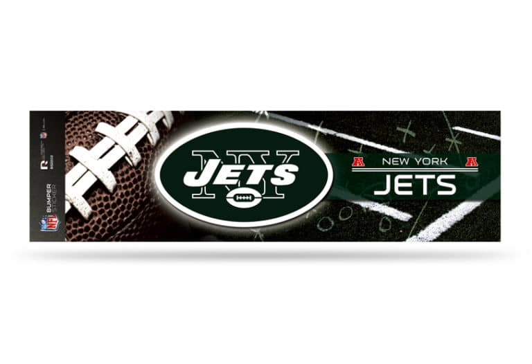 Cheap NFL Football New York Jets Bumper Sticker Officially Licensed