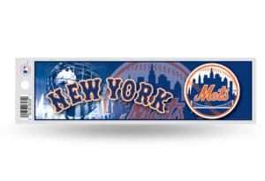New York Mets Bumper Sticker Officially Licensed MLB