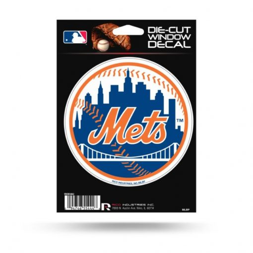 New York Mets Window Decal Sticker Officially Licensed MLB