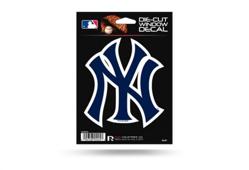 New York Yankees Window Decal Sticker Officially Licensed MLB