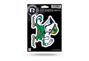 Notre Dame Fighting Irish Window Decal Sticker Officially Licensed