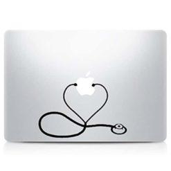 Nurse Stethoscope Laptop Decal Sticker