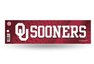 OU Sooners Bumper Sticker Officially Licensed