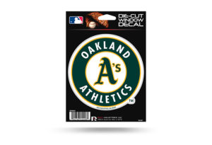 Oakland A's Athletics Window Decal Sticker Officially Licensed MLB