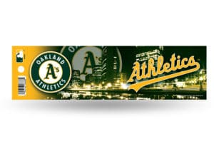 Oakland Athletics A's Bumper Sticker Officially Licensed MLB