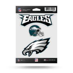 Philadelphia Eagles Window Decal Sticker Set Officially Licensed NFL