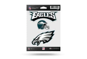 Philadelphia Eagles Window Decal Sticker Set Officially Licensed NFL