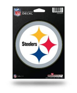 Pittsburgh Steelers Window Decal Sticker Officially Licensed NFL