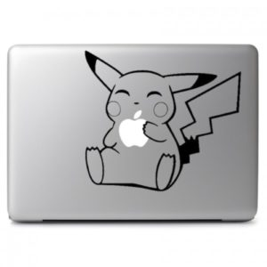 Pokemon Pikachu Laptop Decal Sticker