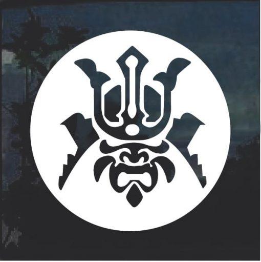 Samurai Warrior Decal Sticker