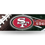 San Francisco 49ers Bumper Sticker Officially Licensed NFL