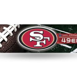 San Francisco 49ers Bumper Sticker Officially Licensed NFL