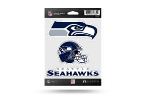 Seattle Seahawks Window Decal Sticker Set Officially Licensed NFL