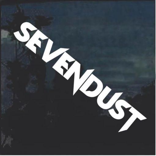 Sevendust Band Window Decal Sticker a2