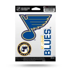 St Louis Blues Window Decal Sticker Set Officially Licensed