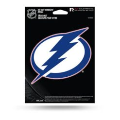 Tampa Bay Lightning Window Decal Sticker Officially Licensed NHL