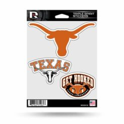 Texas Longhorns Window Decal Sticker Set Officially Licensed