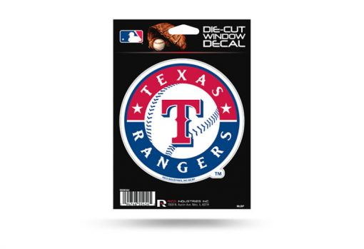 Texas Rangers Window Decal Sticker Officially Licensed MLB