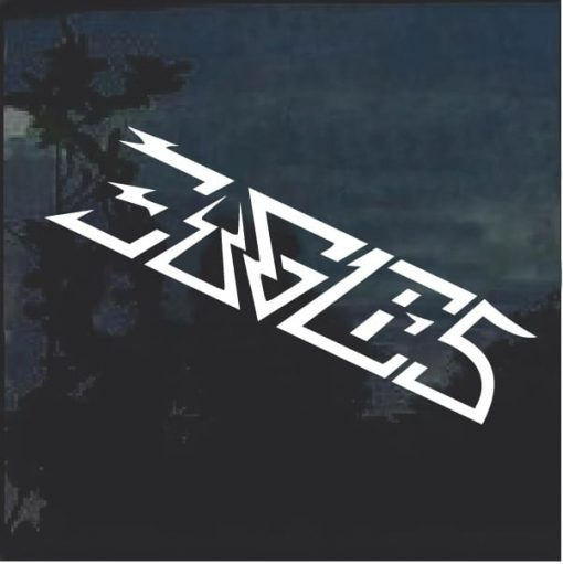 The Eagles Rock Band Window Decal Sticker