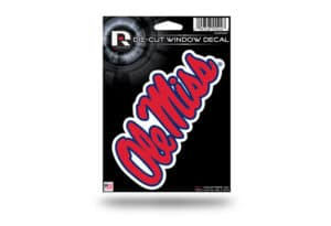 University of Mississippi Ole Miss Window Decal Sticker Officially Licensed