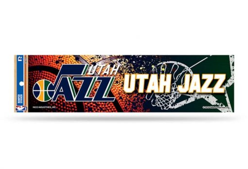 Utah Jazz Bumper Sticker NBA Officially Licensed