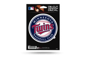 Minnesota Twins Window Decal Sticker Officially Licensed MLB