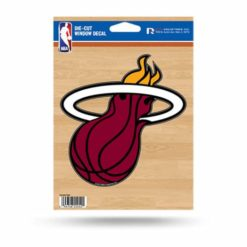 Miami Heat Window Decal Sticker Officially Licensed