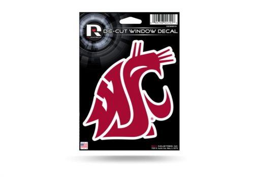 Washington State Cougars NCAA Window Decal Sticker