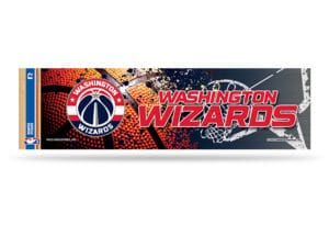 Washington Wizards Bumper Sticker NBA Officially Licensed