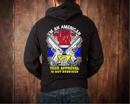 2nd Amendment I have the Right to Bear Arms Hoodie