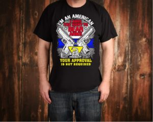 2nd Amendment Right To Bear Arms Tee Shirt