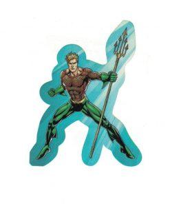 Aquaman II Justice League Laptop Locker Phone Sticker Licensed DC Comics