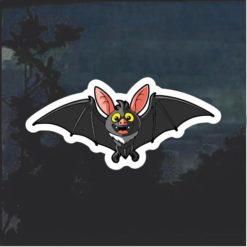 Bat Cartoon Window Decal