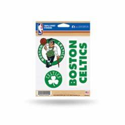 Boston Celtics Window Decal Sticker Set NBA Officially Licensed