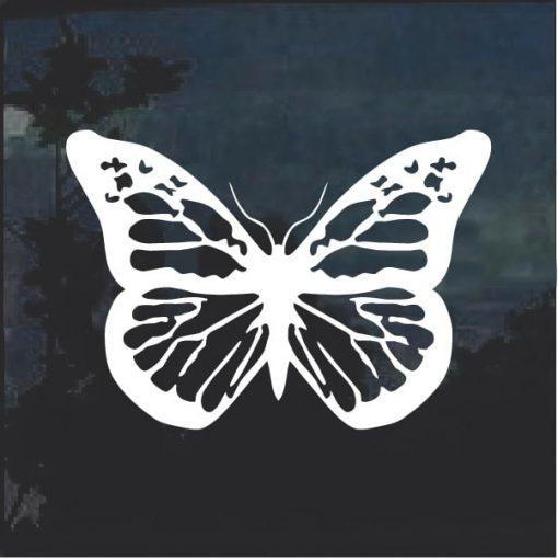 Butterfly Window Decal Sticker A15